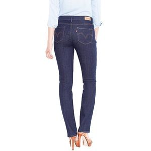 Levi's 525 Perfect Waist Straight-Leg Blue Jeans